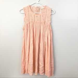 Altar'd State peach boho babydoll dress size s